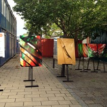 Pop-Up Art Exhibition in Neu Marx